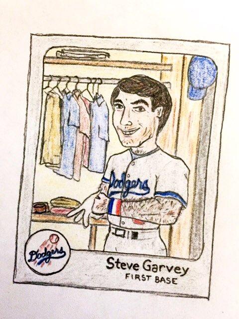 Happy birthday, Steve Garvey!