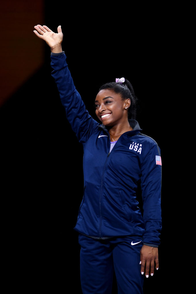 Simone Biles Goat The Undefeated 1