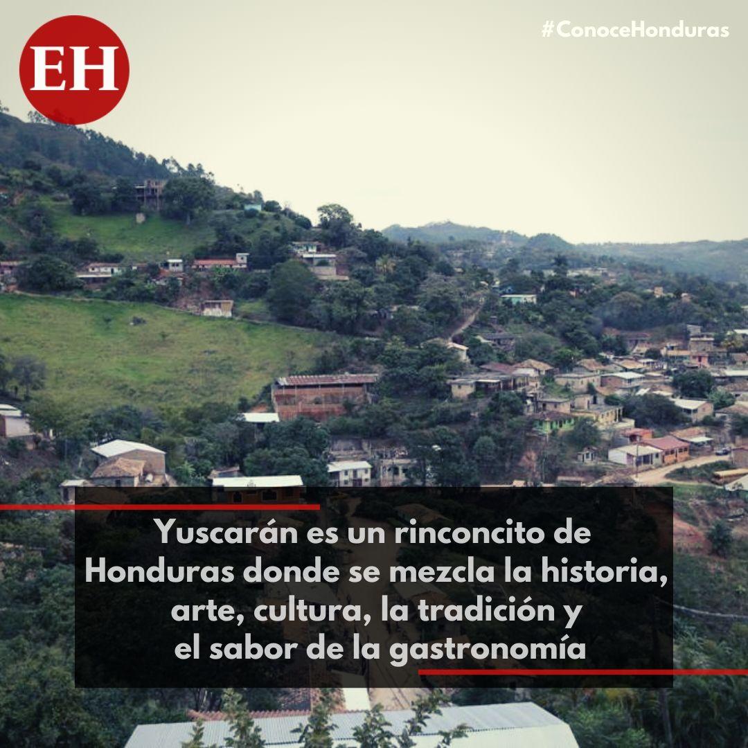 #ConoceHonduras Yuscarán es cuna de poetas, políticos, artistas y pintores