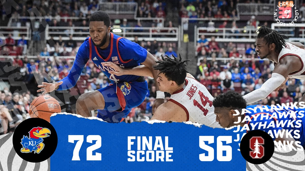 Closing out 2019 with a win 🙌@imoss38 led the way with 17 points (4-7 from three) and was one of four Jayhawks to finish with double figures!