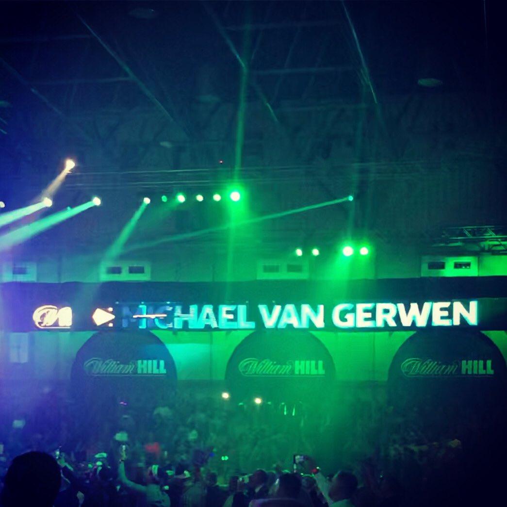Michael Van Gerwen @MvG180