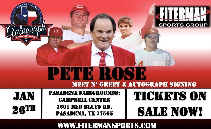 📸🖊Houston and surrounding areas come meet me and my legendary friends at The Autograph Show of Texas Jan 24-26, 2020 in Pasadena, Tx hosted by @FitermanSports   Click the link for more information.