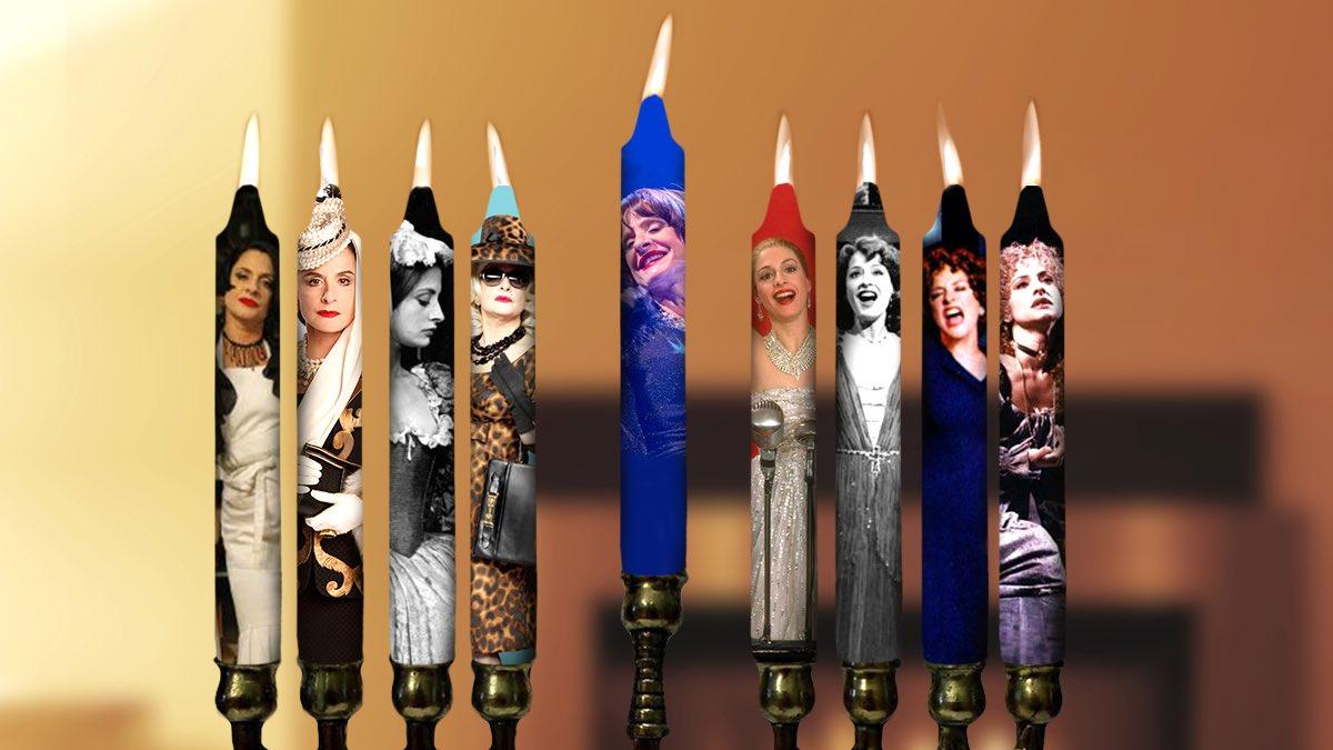 On the 8th night of Chanukah, we light the... Patti LuPonorah! #HappyHanukkah