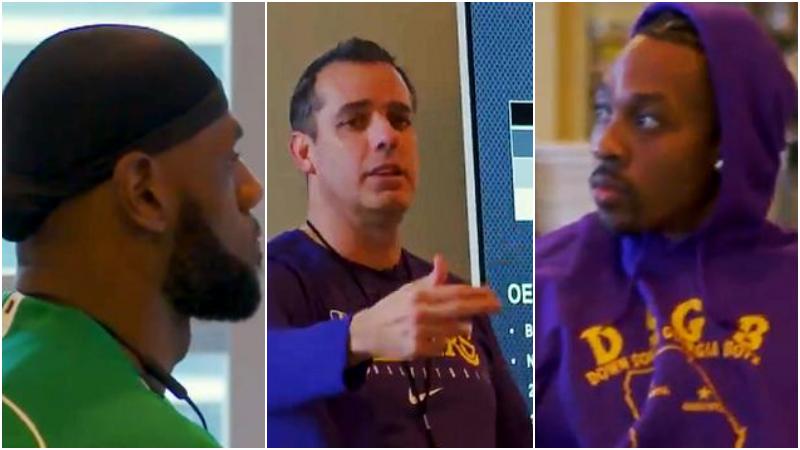 【影片】官方揭秘湖人備戰會議!Vogel如教師認真授課,詹姆斯邊聽邊點頭!