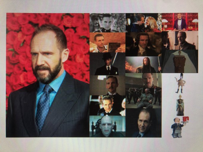 Happy 57th Birthday to actor, film producer, and director, Ralph Fiennes!