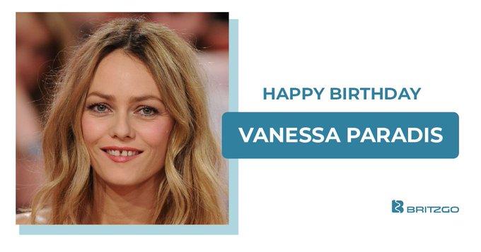 Happy Birthday Vanessa Paradis!