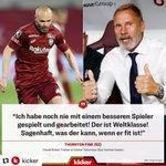 """Image for the Tweet beginning: """"Iniesta? Sagenhaft!"""" Thorsten Fink im"""