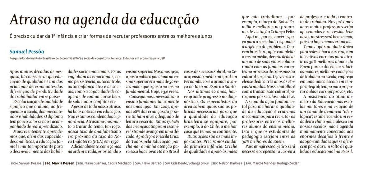 Muito bom artigo do Samuel Pessoas. Recomendo. https://t.co/pWF7iIh8m8 https://t.co/FWm8GPiewO
