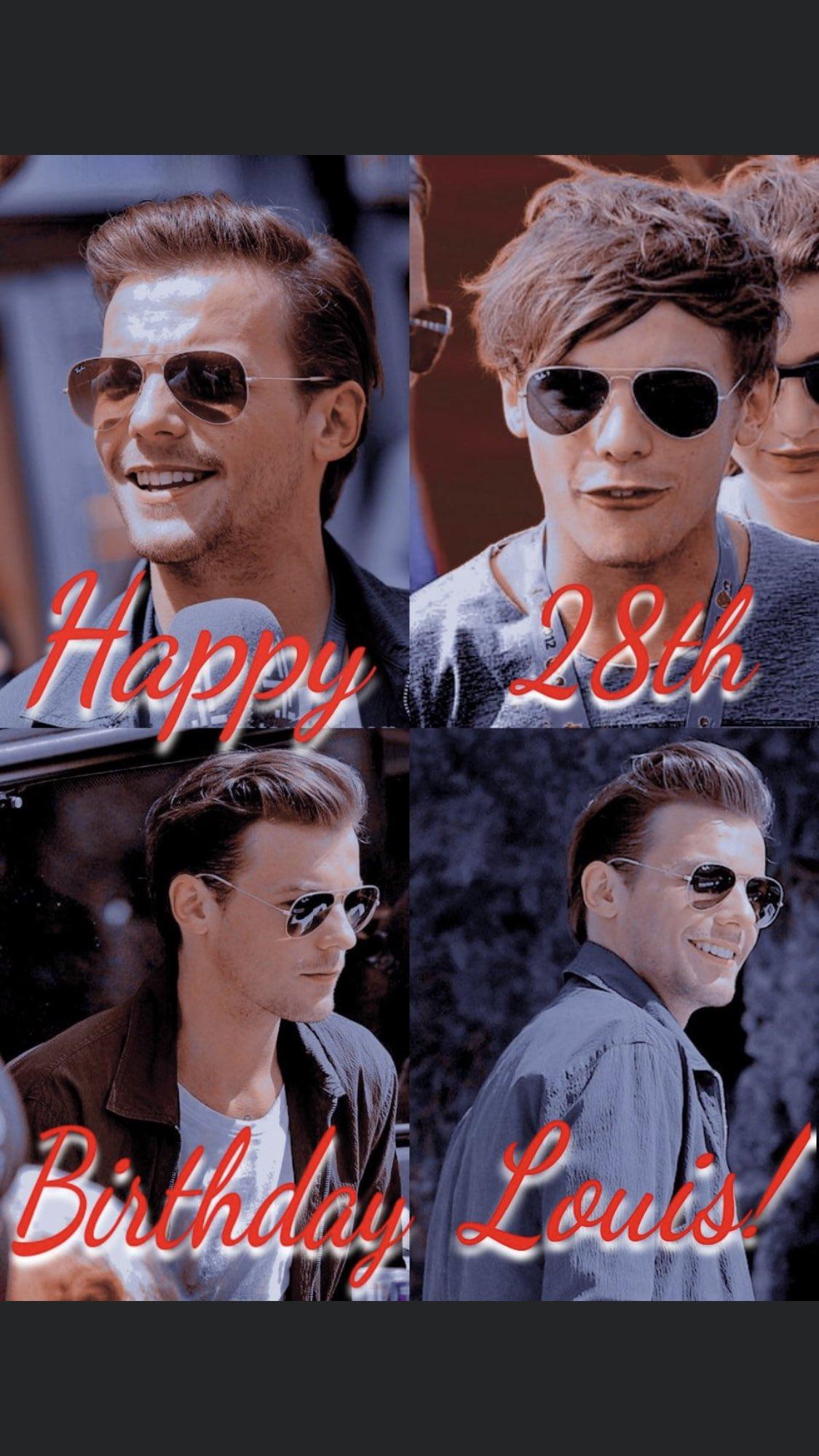 Happy Birthday Louis Tomlinson 28