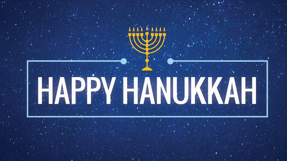 Wishing all a Happy Hanukkah.
