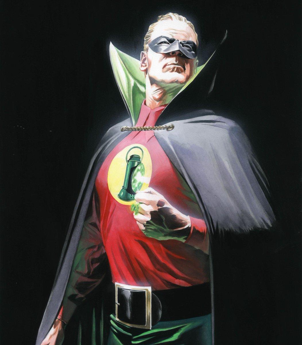 "Alex Ross on Twitter: ""Green Lantern #greenlantern #dc #sunday #art #comicartist… """