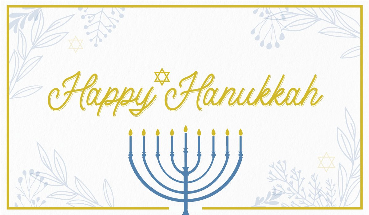 Happy first night of #Hanukkah to everyone celebrating the Festival of Lights.