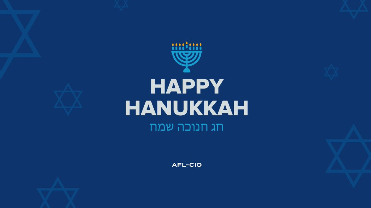 #ChagSameach and Happy #Hanukkah! To all those celebrating the Festival of Lights - from our family to yours - may you have a warm, joyous, and peaceful holiday. #1u