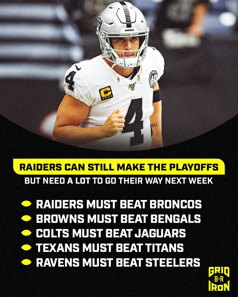 how can the raiders make the playoffs