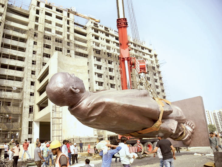 વૈષ્ણોદેવી સર્કલ પાસે સરદારની 50 ફૂટ ઊંચી, 17 હજાર કિલોની કાંસાની પ્રતિમા મુકાશે  #LetsTalkCity #SardarPatelStatue #Ahmedabadb #Amdavad #Karnavati #Gujarat Via http://www.divyabhaskar.co.in http://bit.ly/34MHwbQpic.twitter.com/vpvP4YXtOv