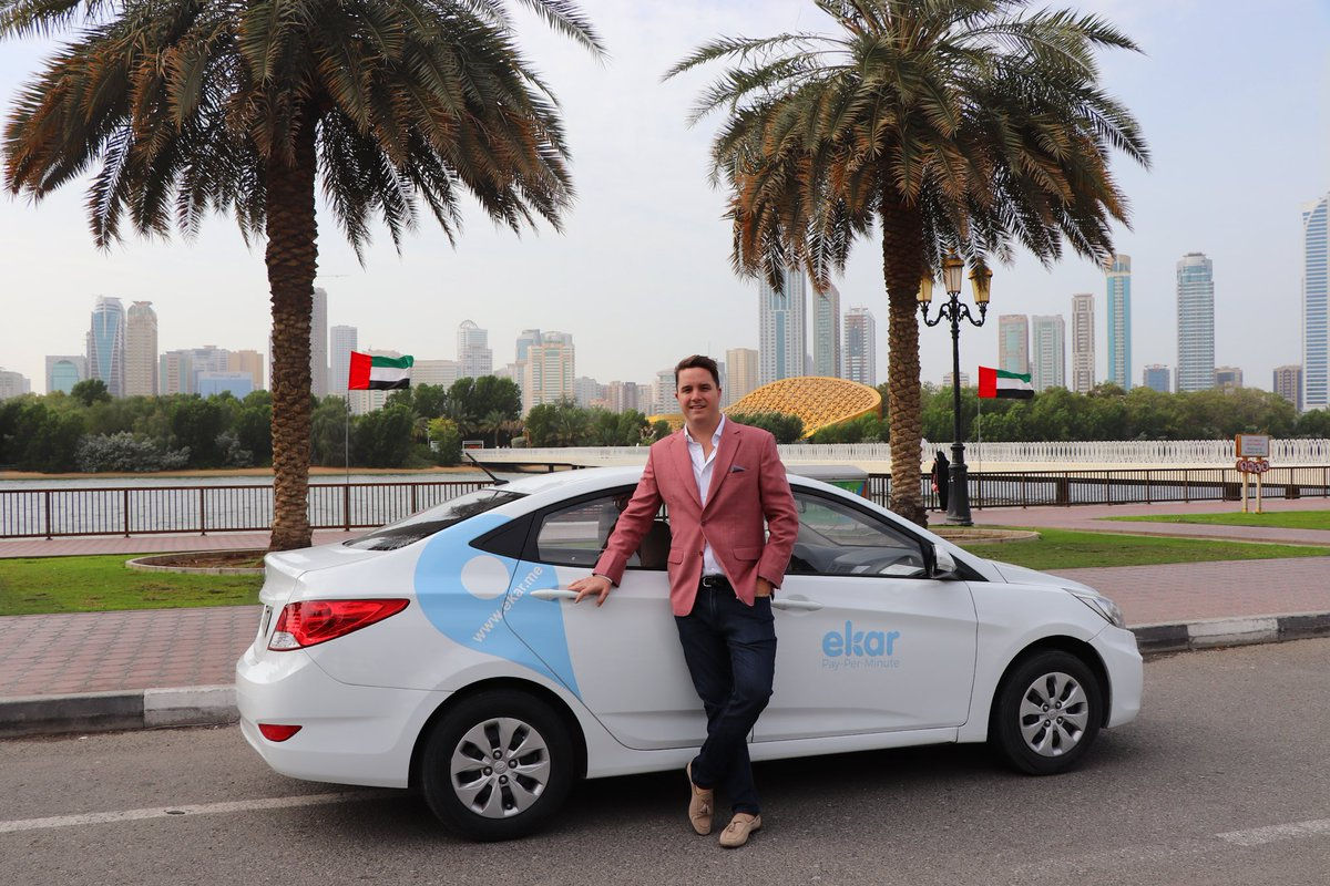 #ekar, the #UAE's favorite car-sharing app service launches in #Sharjah today! https://t.co/tyeU867PV7 https://t.co/sUIfdUZ7jI