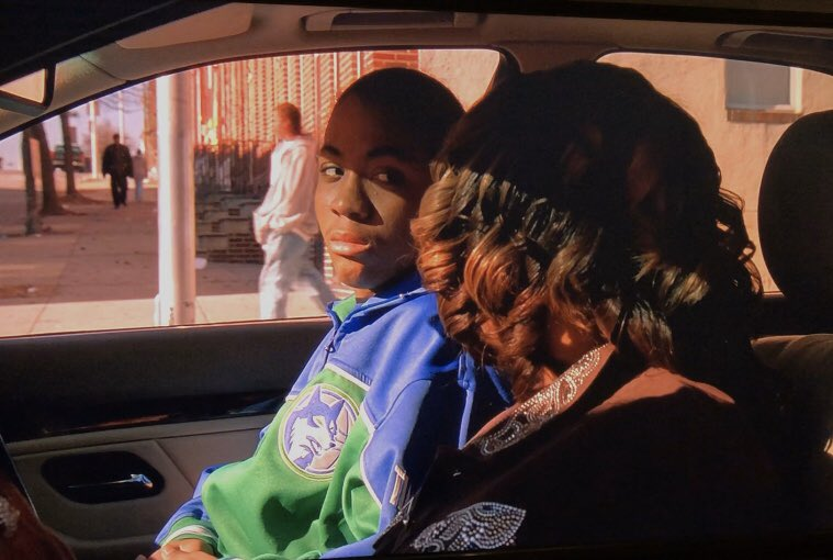 watching The Wire season 4 where Namond is dripping in a throwback Wolves track jacket