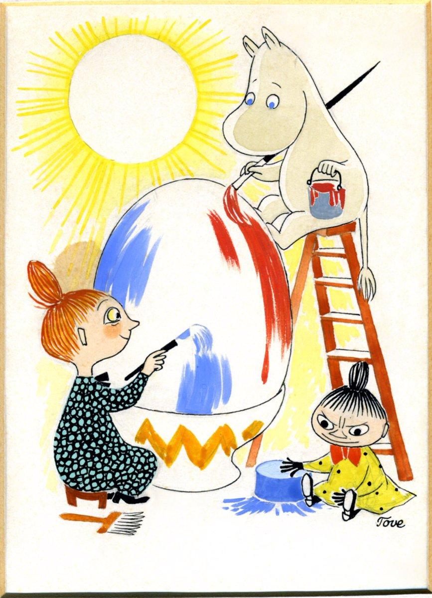ムーミン展 The Art And The Story 公式 Moomin Art Twitter