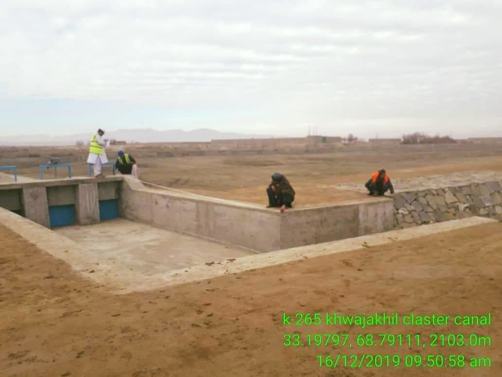 Reconstruction of Khwaja Khel Canal is Finished This canal is located in central Paktika province, which is dedicated in order to manage water, increase agricultural land, create jobs and improve the environment. Click the link for more info https://www.facebook.com/MEW.AF/posts/2613976682053029…
