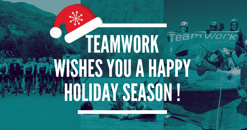 Image for the Tweet beginning: 🎄#TeamWork vous souhaite de joyeuses