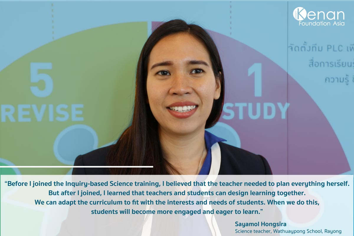Teacher shares her experience from joining Kenan's Inquiry-based Science program https://t.co/XHI3blAZZO #Thailand #Education https://t.co/egm5iqlWFx