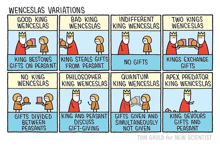 cartoon: wenceslas variations