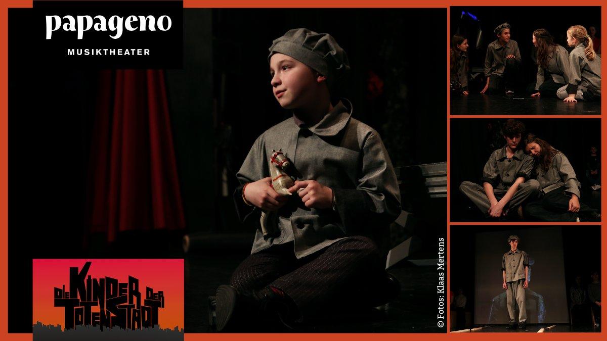 Wegen des großen Erfolgs am 23., 24. und 25. Januar 2020 wieder im @PapagenoTheater #Frankfurt: #DieKinderDerTotenStadt – Musikdrama #GegenDasVergessen unter Schirmherrschaft von #IrisBerben. Mit dem #Ensemble der #Uraufführung. #Theater #Musical #twlz #hessenedu #JungeBühnepic.twitter.com/WuSxGSFww1