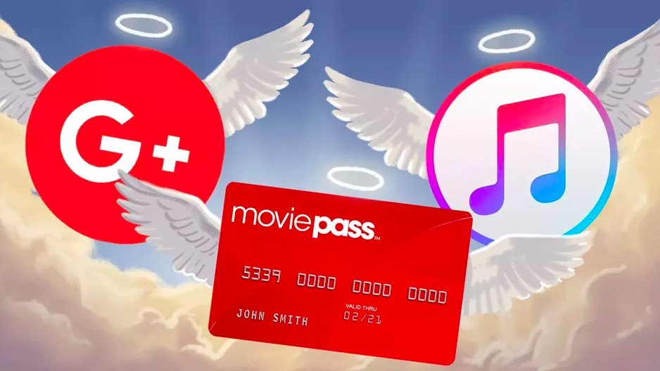 The tech we lost in 2019: RIP iTunes, MoviePass, and