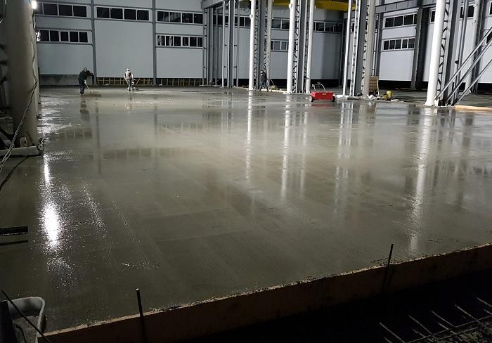 Строительство бетонных промышленных полов