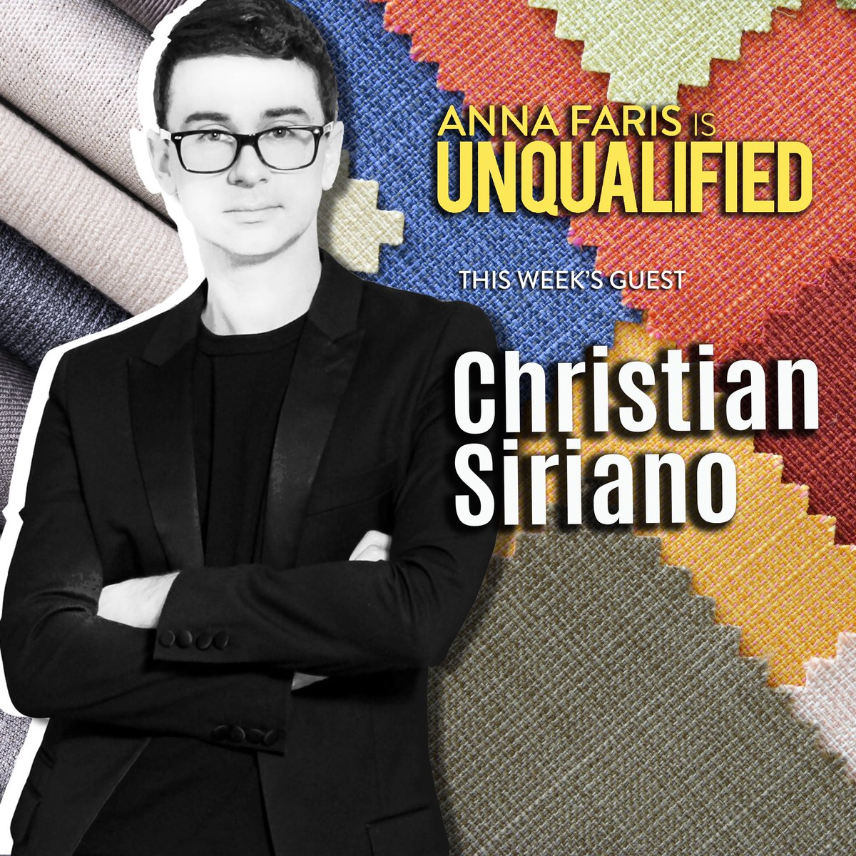 .@CSiriano is on this week's episode of @Unqualified! apple.co/35UFzeE