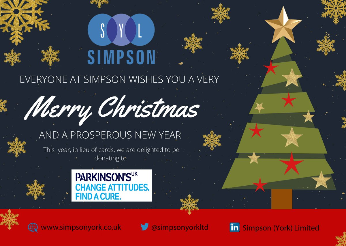 Simpson York Ltd On Twitter Simpson Wish You A Very Merry Christmas And A Happy New Year Our Offices Will Be Closed For The Festive Period From Monday 23rd December Until The