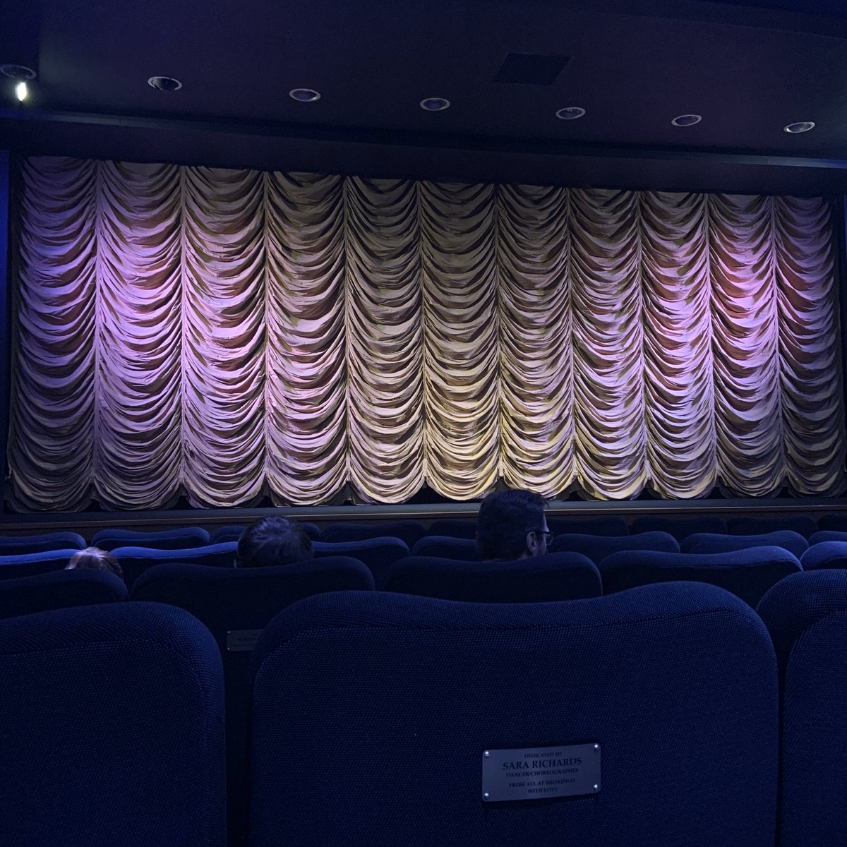 Rise Of Skywalker: Round Three (this time with the parents, at the wonderful @BroadwayCinema ❤️)
