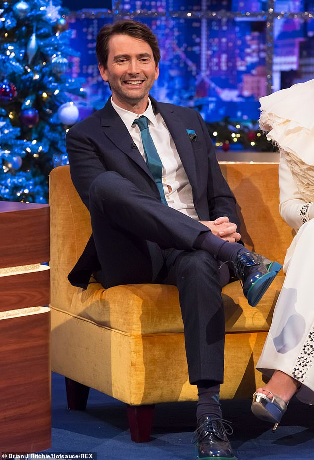 David Tennant from The Jonathan Ross Christmas Show