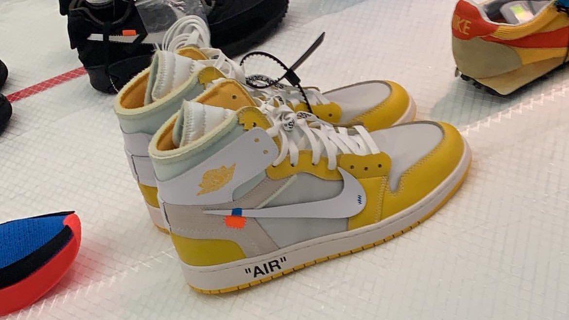 Off-White x Air Jordan