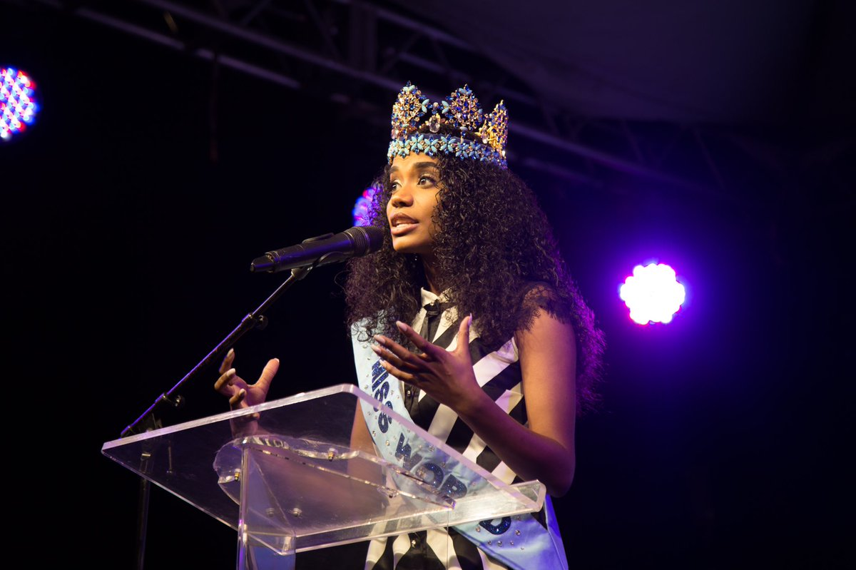 Official Thread of Miss World 2019 ® Toni-Ann Singh - JAMAICA - Page 2 EMeT-A-XsAAzTLr