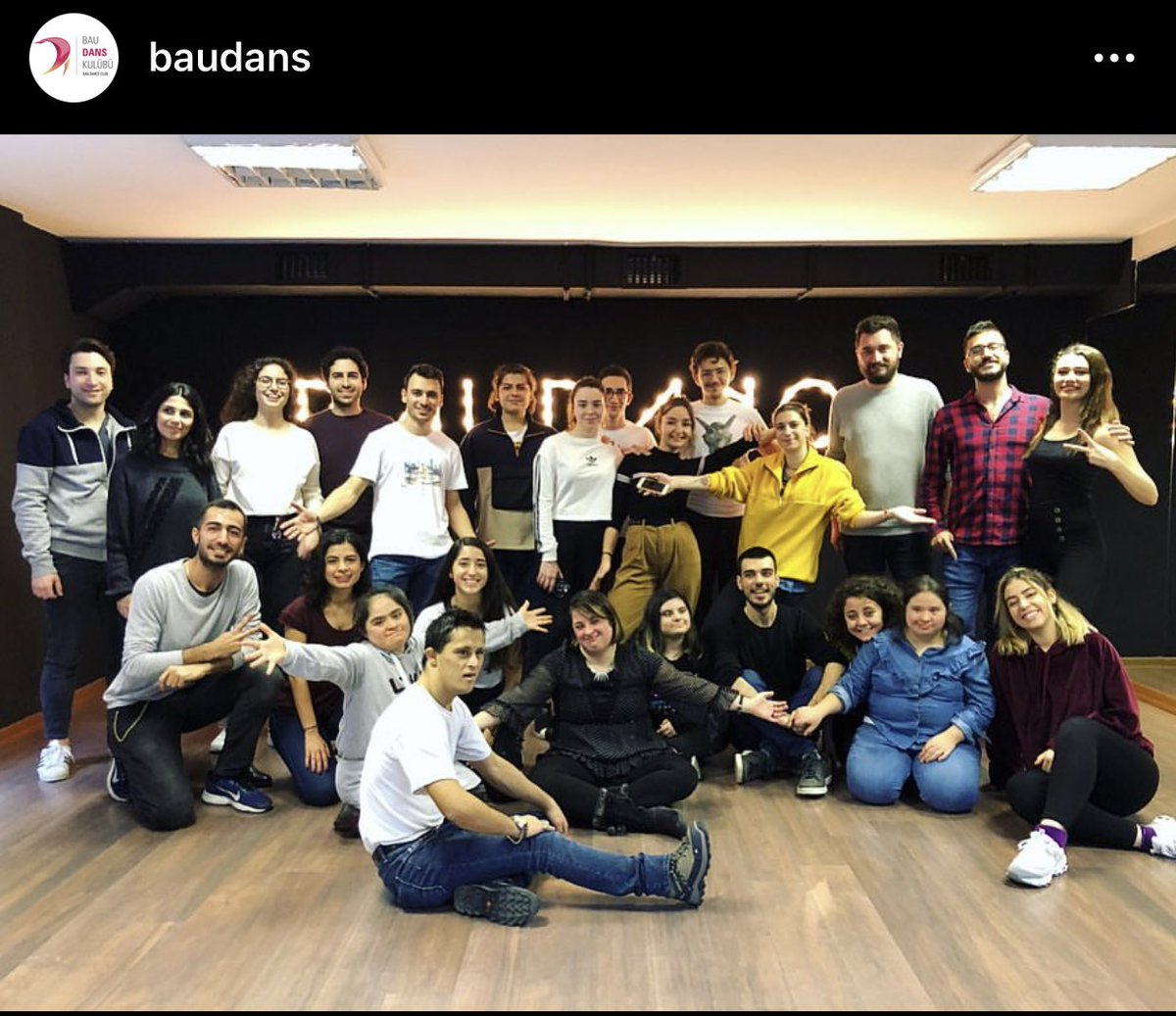 @BAUDans ailesi olarak çok güzel bir Dans Atölyesine ev sahipliği yaptık. Bu güzel organizasyonu hayata geçiren #galatasarayrotaract #yeşilköyrotaract #dostyaşamdownsendromluvakfı 'na Teşekkür ederiz🙏🏼 #baudancefam https://t.co/h7vGxJ07L6