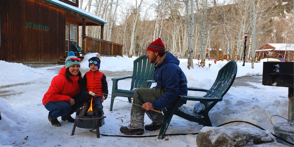Life is S'MORE fun outdoors!  Heat up your soul and revel in the beauty of the great outdoors next to a Breck Iron Works propane fire pit. Call 719-539-6953 for availability and delivery info.   #chalets #lovemountains #cabin #cabinlife #cabinlove #cabinliving #CreeksideChaletspic.twitter.com/4vGjOUzQfS