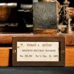 Image for the Tweet beginning: 140 years ago #OTD, inventor