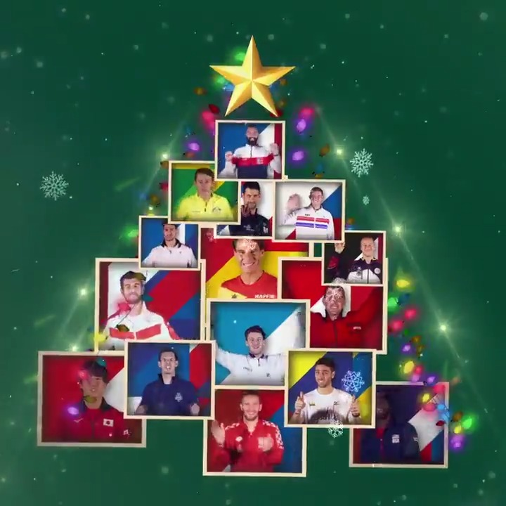Season's Greetings to all tennis fans 🎄🎁🎾  #DavisCupMadridFinals #byRakuten
