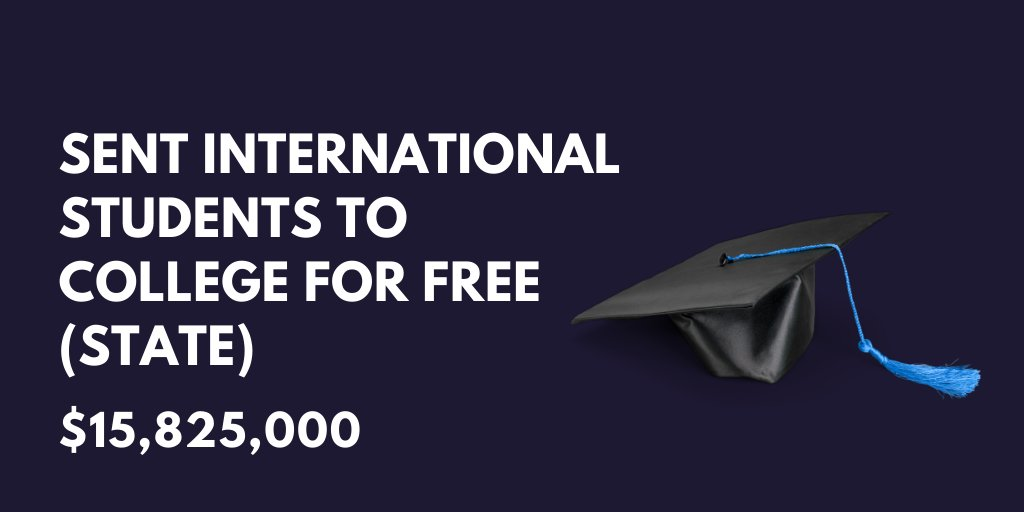 Free college for international students...Read more here: bit.ly/2POvlaa