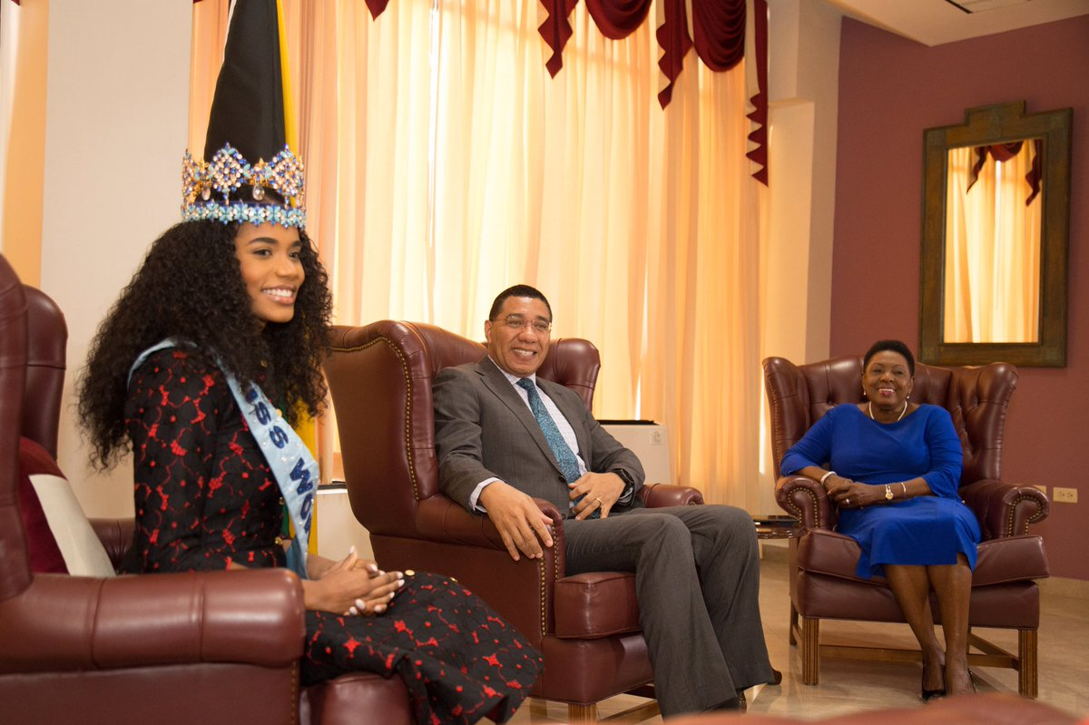 Official Thread of Miss World 2019 ® Toni-Ann Singh - JAMAICA - Page 2 EMfDKVqWoAIWxrt