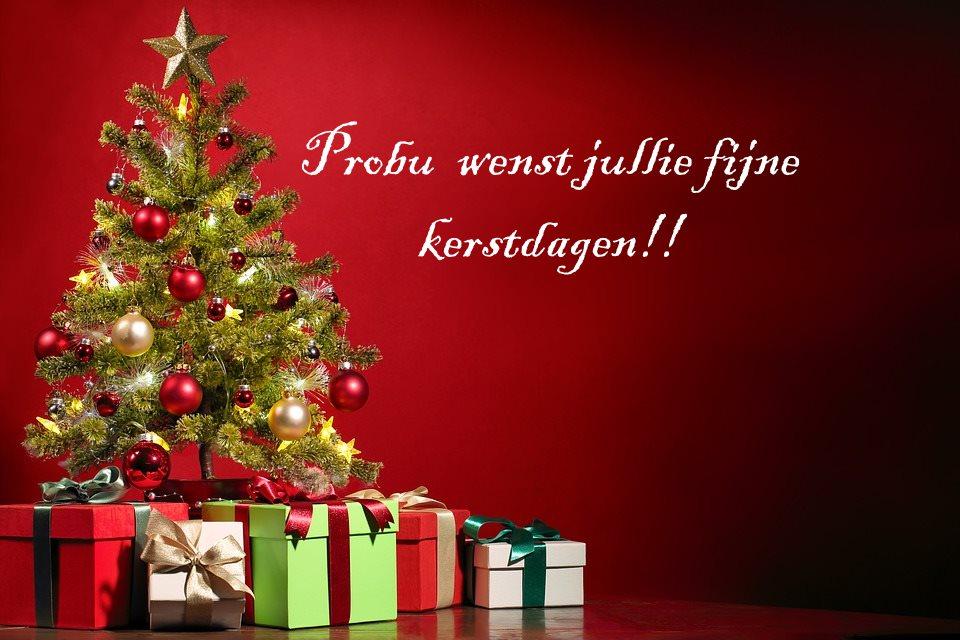 Fijne kerstdagen!