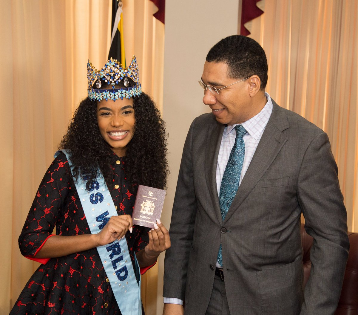 Official Thread of Miss World 2019 ® Toni-Ann Singh - JAMAICA - Page 2 EMfQGxNXsAE4ZfR