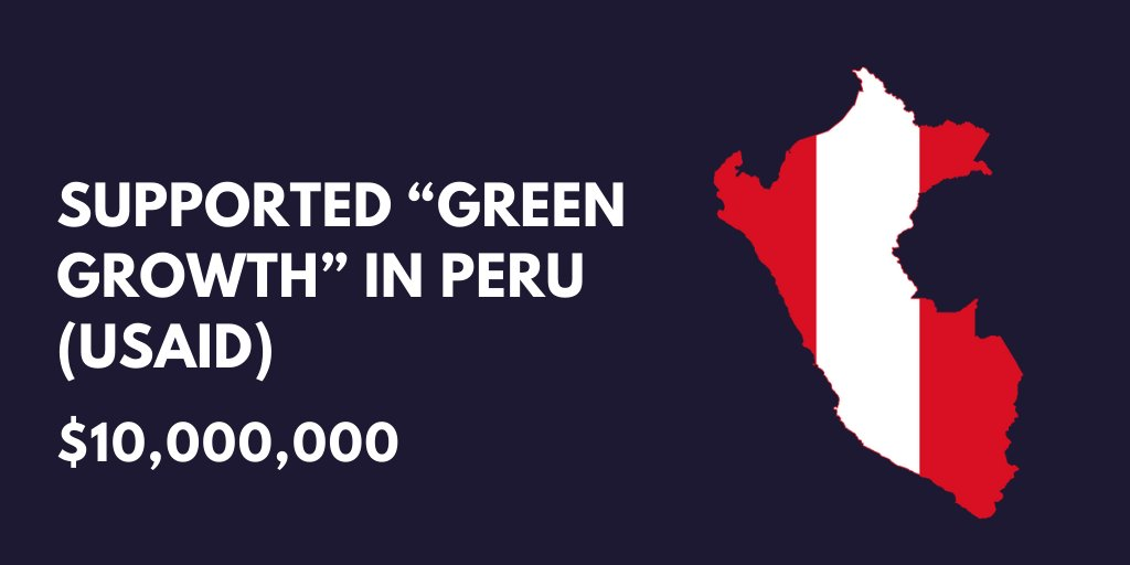 Green growth for Peru...Read more here: bit.ly/2POvlaa