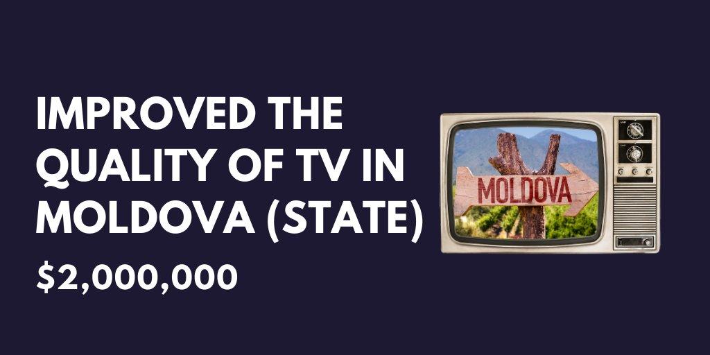 Moldova TV...Read more here: bit.ly/2POvlaa
