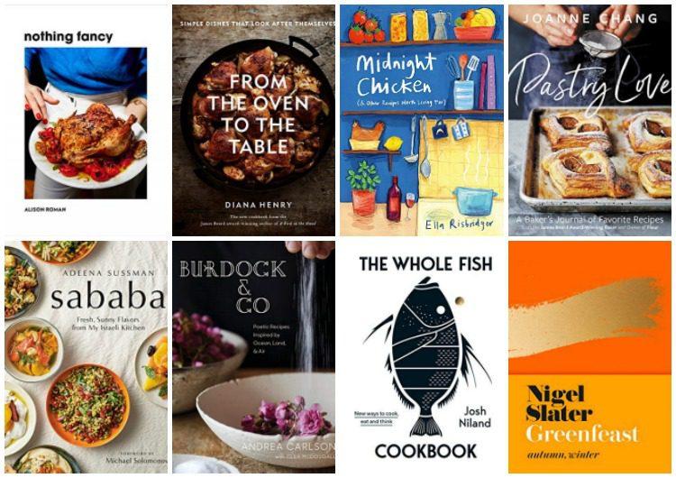 Best of the best cookbooks 2019: @alisoneroman @NigelSlater @DianaHenryFood @AdeenaSussman @PKgourmet @antoni @jbchang @hseanbrock  @TheJoyofCooking @fuchsiadunlop  @thejemimacode  and others.