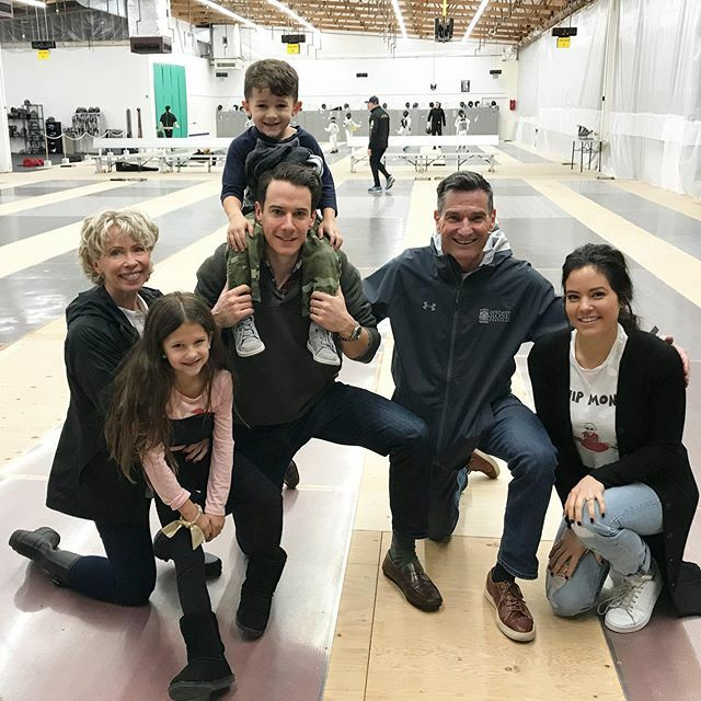 More alumni visitors are stopping in, fencer Nick Crebs brings his family by including his nephew Henry who is in our Mini Fencers Class. It's so nice to see everyone again! #NWFC #fencing #fencingfamily https://ift.tt/34P5281 pic.twitter.com/Yb9Kop6qmx