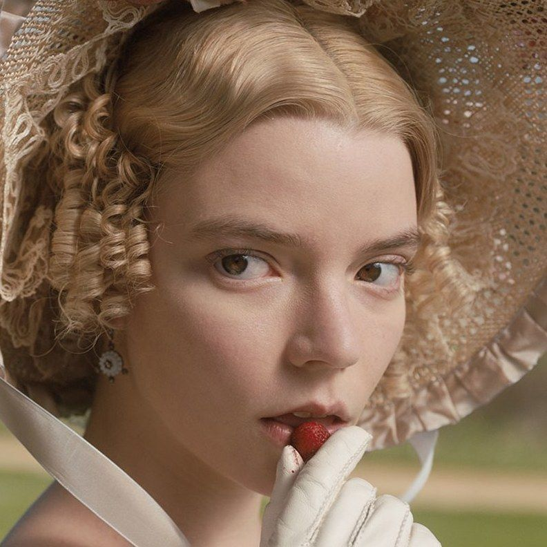 #OnThisDay in 1815, the publication of Emma by Jane Austen was announced in The Morning Chronicle newspaper. Pictured here is @anyataylorjoy starring as #Emma in the new adaptation by Autumn de Wilde, in theatres February 2020. Still popular 200 years later... 👏 👏
