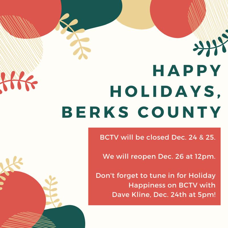 #HappyHolidays, Berks County!