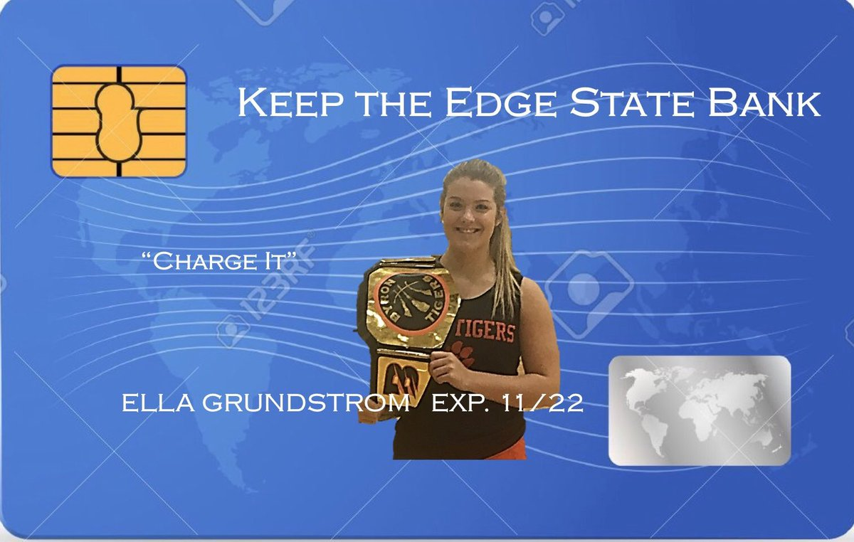 "2nd Set of ""Charge It"" cards are being printed for the Holiday Season. Keep ""Earning the Belt""!!!!  #neversettle #keeptheedge https://t.co/bLSpXpxMBy"